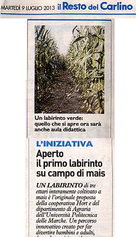 Il Resto del Carlino - 9/07/2013