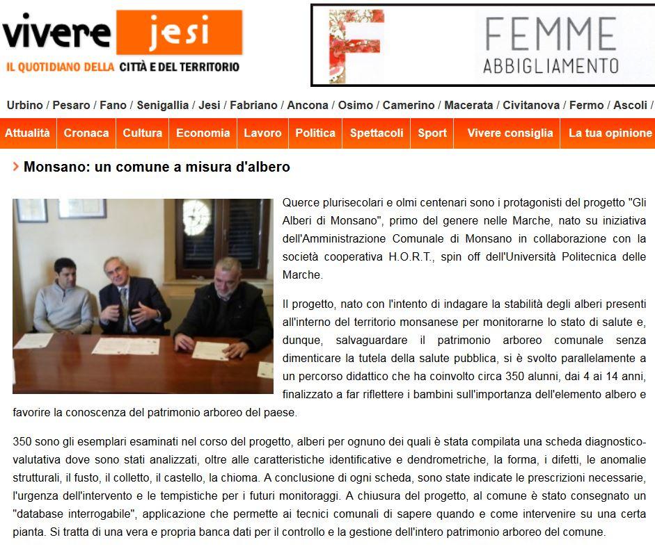 Vivere Jesi - 12/12/2012