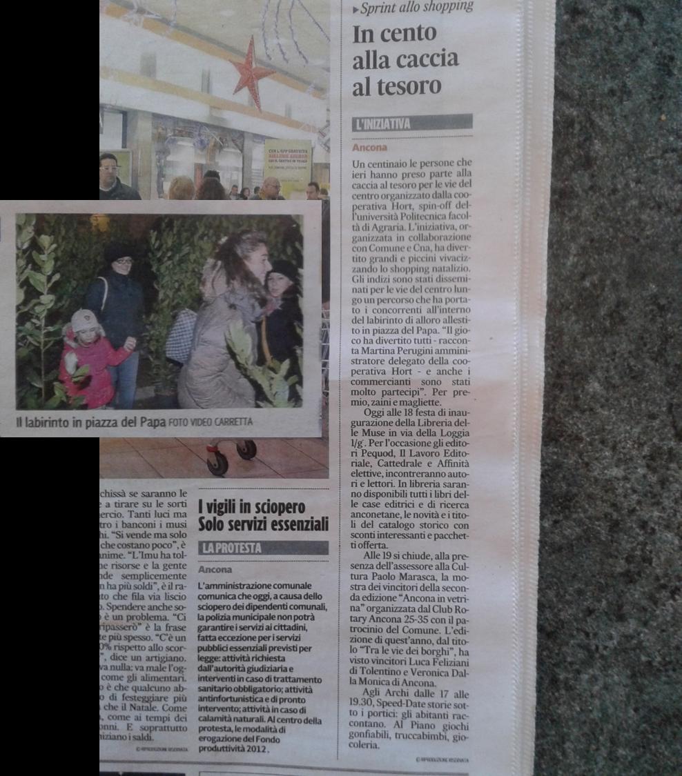 Il Corriere Adriatico - dicembre 2013