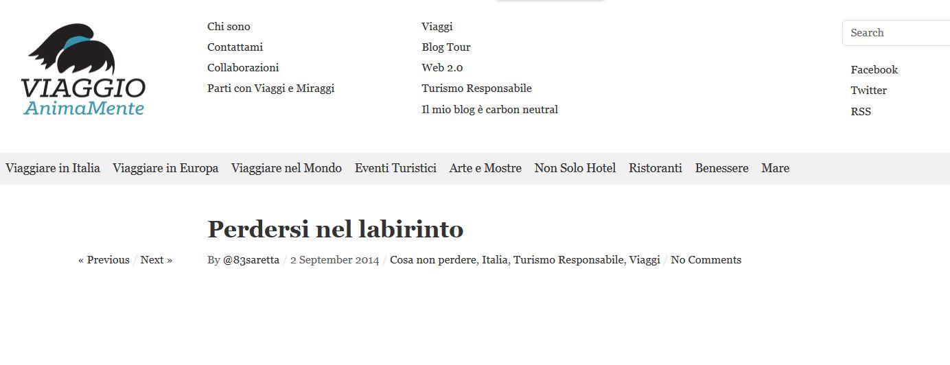 Viaggio Animamente - 02/09/2014