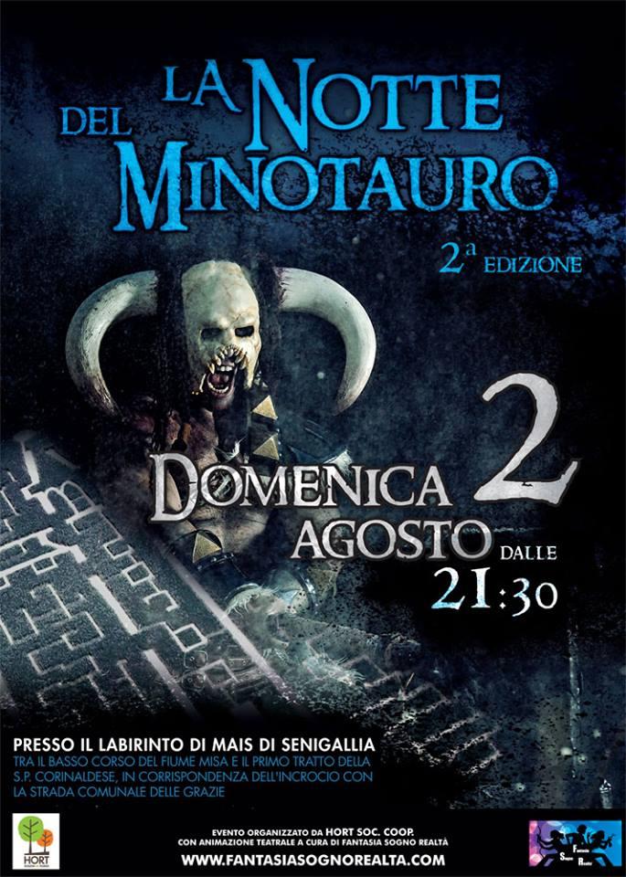 2 agosto - LA NOTTE DEL MINOTAURO