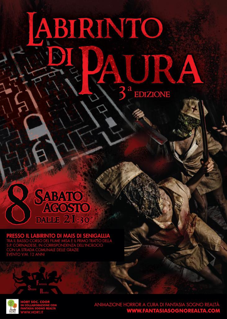 8 agosto - LABIRINTO DI PAURA