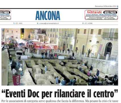Corriere adriatico  - 13-14/12/2014