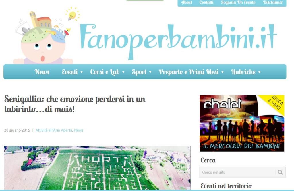 Fanoperbambini - 30/06/2015