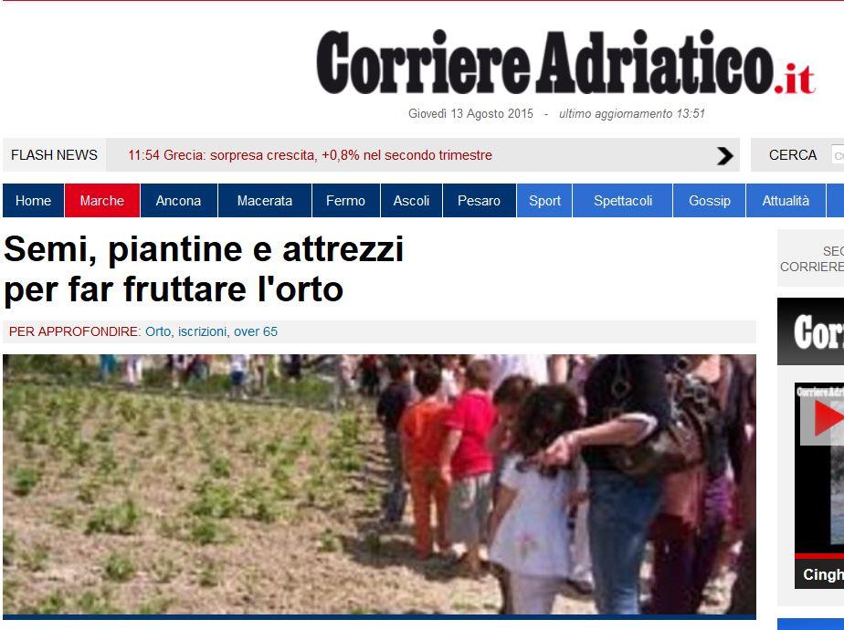 Corriere Adriatico - 10/04/2015