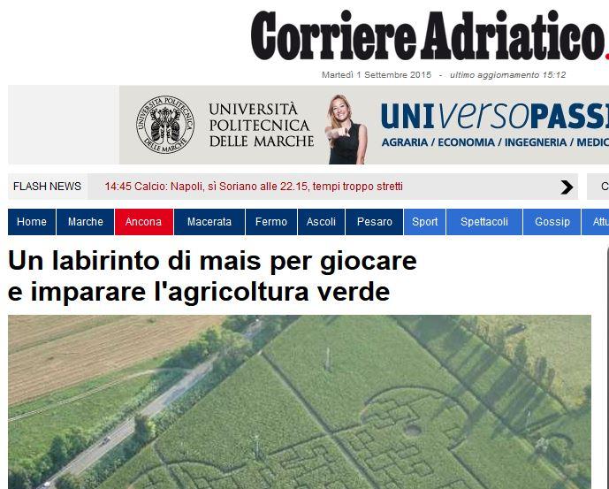 Corriere Adriatico - 30/07/2013