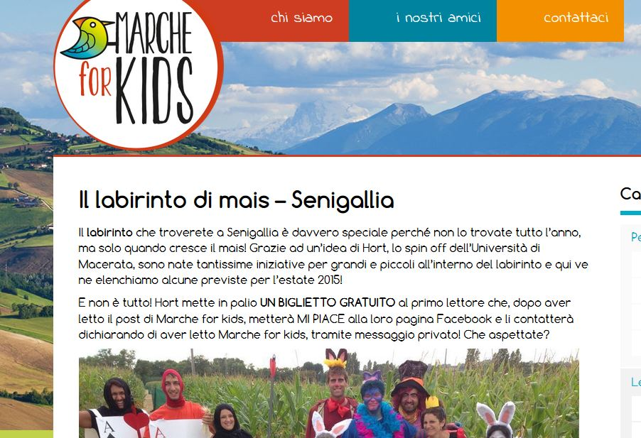Marche for kids - 28/07/2015
