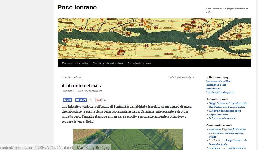 Blog Poco lontano - 16/07/2014