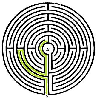 labirinto, hort, labirinto chartres, francia labirinto, significato labirinto